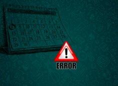 Как исправить ошибку «Ваша дата не верна» вWhatsApp