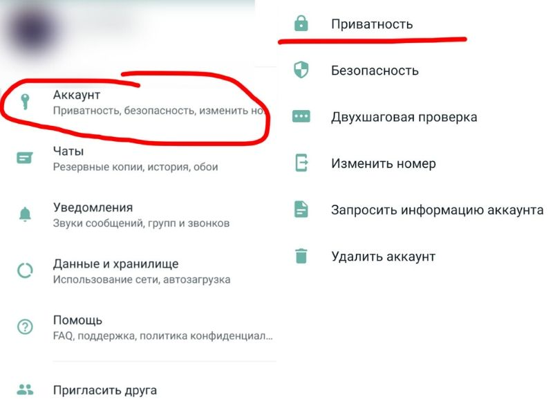 Отпечаток пальца WhatsApp